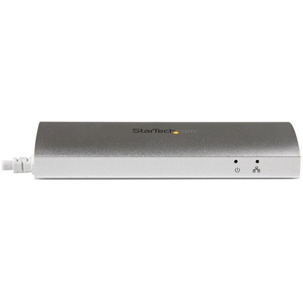 HUB USB STARTECH ST3300G3UA, 5000 MBIT/S, COLOR PLATA