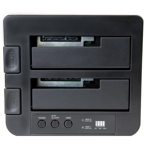 STARTECH BASE ACOPLAMIENTO USB 3.1 SSD/HDD SATA 2.5-3.5