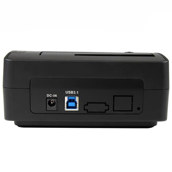 STARTECH DOCKING STATION USB3.1 1BAHIA HDD-SSD 2.5/3.5