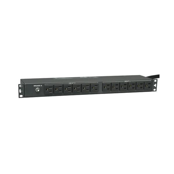 PDU MONOFASICO BASICO TRIPP LITE PDU2430 30AQ 120V HORIZONTAL 1U