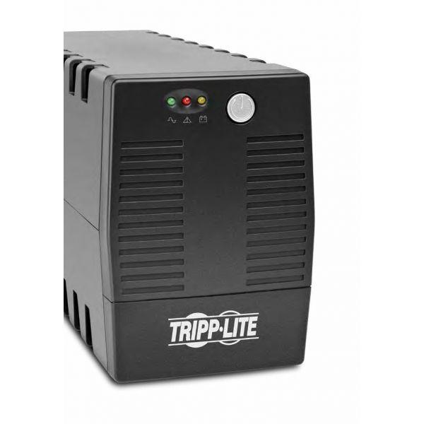 NO BREAK TRIPP LITE, SERIE AVR, 300W, 600VA, SALIDA 120V, VS600AVR