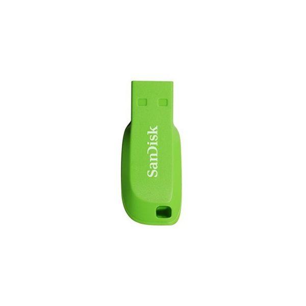 MEMORIA FLASH SANDISK 16GB USB 2.0 COLOR VERDE (SDCZ50C-016G-B35GE)