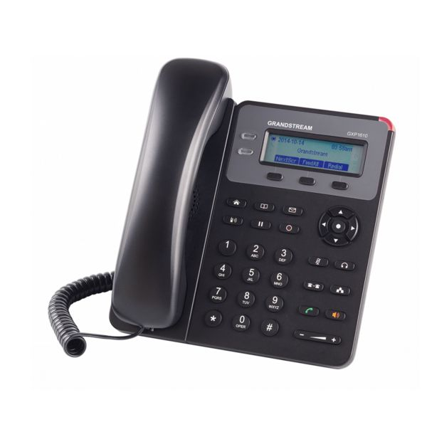 TELEFONO IP GRANDSTREAM GXP1610 SI 1 LINEAS NEGRO