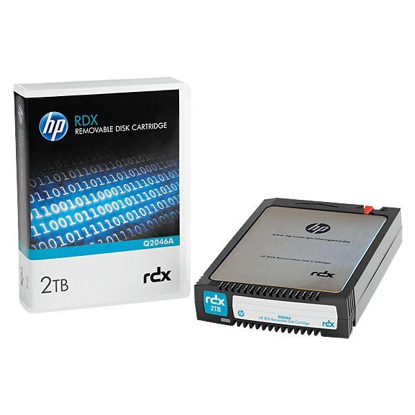CARTUCHO DE DISCO EXTRAIBLE HPE RDX 2TB Q2046A