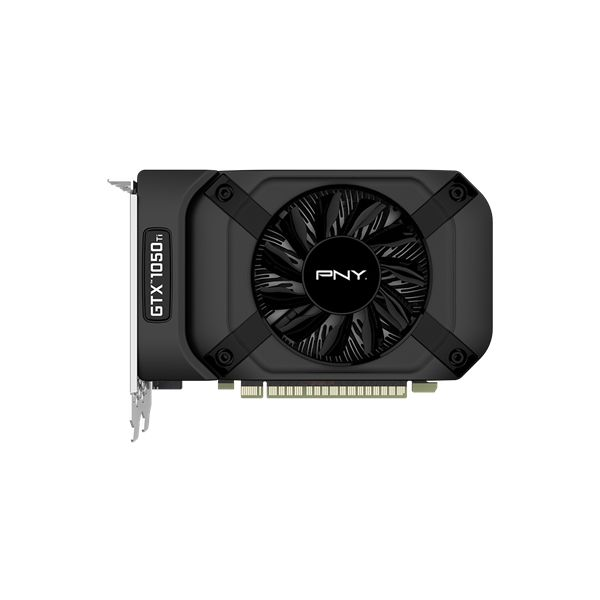 TARJETA DE VIDEO PNY VCGGTX1050T4PB GTX 1050 TI 4GB DDR5 PCIe3.0 DP
