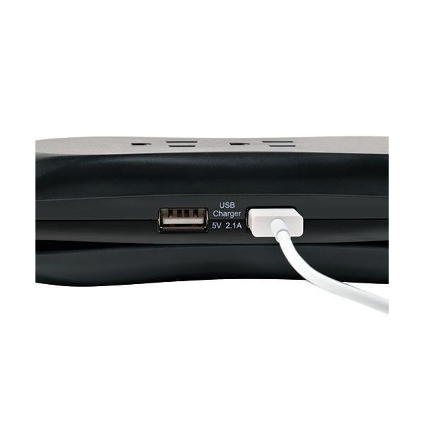 SUPRESOR DE PICOS TRIPP LITE TRAVELER3USB 3 CONTACTOS 1050J 2 USB