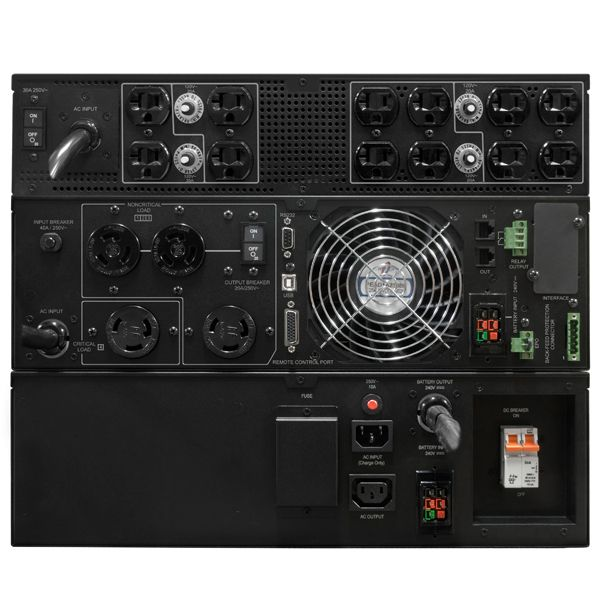 NOBREAK CYBERPOWER OL6000RT3UTF 6000V 5400W LCD ONLINE 240-120V