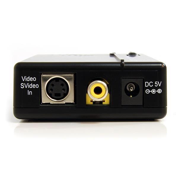 STARTECH ADAPTADOR CONVERTIDOR S-VIDEO VID. COMP. RCA-VGA VID2VGATV2