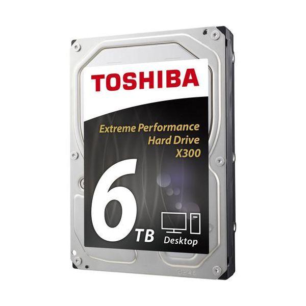 DISCO DURO INTERNO TOSHIBA X300 XTME PERFORMANCE 6TB 3.5