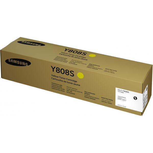 CARTUCHO TONER SAMSUNG CLT-Y808S AMARILLO 20K PAGS