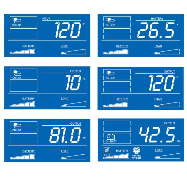 NO BREAK TRIPP LITE UPS INTERACTIVO SMARTPRO LCD, 120V, 1300VA, 720W