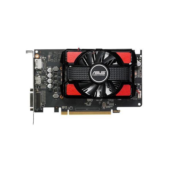 TARJETA DE VIDEO ASUS RX550-2G 2GBDDR5 DVI/HDMI/DPORT 128BIT