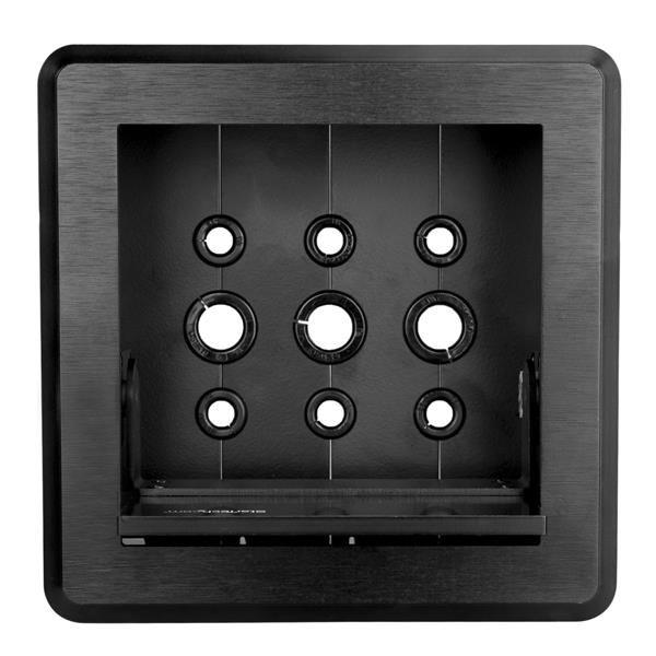 STARTECH GABINETE P. GESTION DE CABLES ACERO, ALUMINIO BOX4CABLE