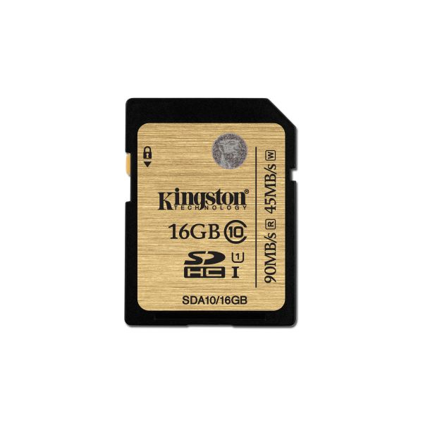MEMORIA SDH KINGSTON 16GB CLASE 10 COLOR MARRON (SDA10/16GB)