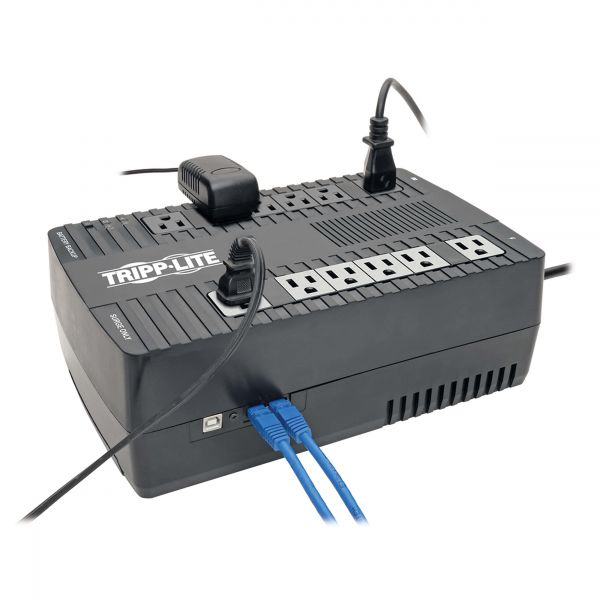 NO BREAK TRIPPLITE INTERACTIVO AVR 750VA 450W USB ULTRACOMPACTO
