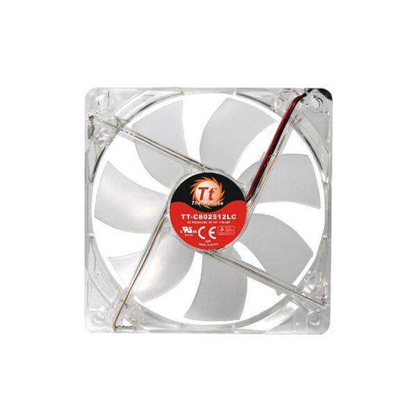 VENTILADOR GABINETE THERMALTAKE THUNDERBLADE AF0027 80MM LED ROJO