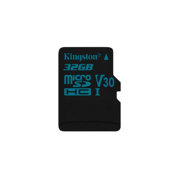 MEMORIA MICRO SD KINGSTON CANVAS GO 32GB SDXC CLASE10 SDCG2/32GBSP