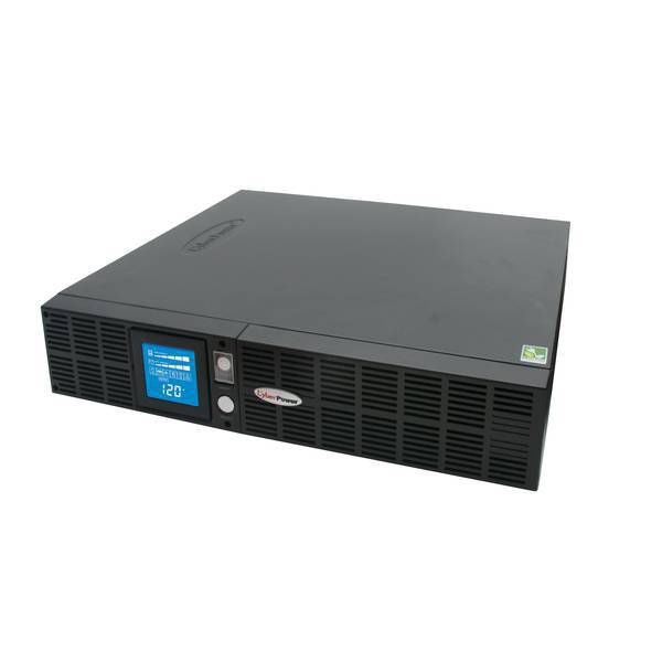 NO BREAK CYBERPOWER LCD 1500VA 1050W SENOIDAL 8 CONT 17 MIN RESPALDO