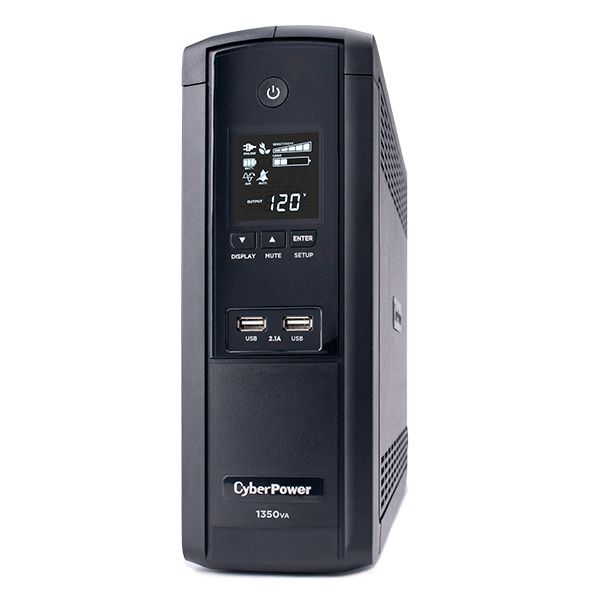 NO BREAK CYBERPOWER BRG1350AVRLCD 810W 1350VA 12 CONTACTOS