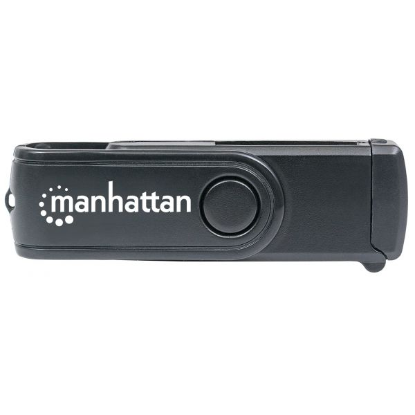 LECTOR DE TARJETAS MANHATTAN USB 3.0, 24 EN 1 101981