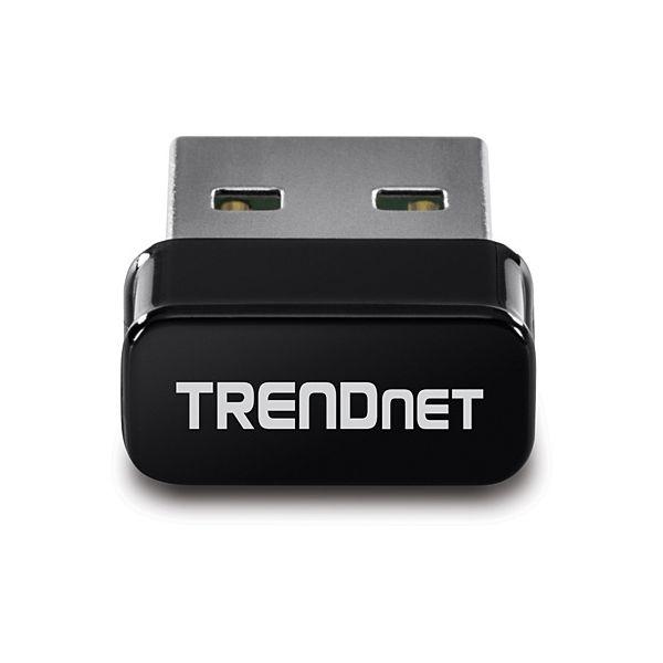 ADAPTADOR USB TRENDNET AC1200 INALÁMBRICO 867 MBIT/S NEGRO TEW-808UBM