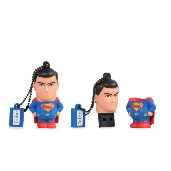 MEMORIA FLASH MANHATTAN 8 GB SUPERMAN DC COLORES USB 2.0 (FD033401 )