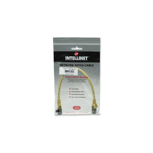 CABLE PATCH INTELLINET CAT6 UTP RJ-45 MACHO 50CM AMARILLO 342339
