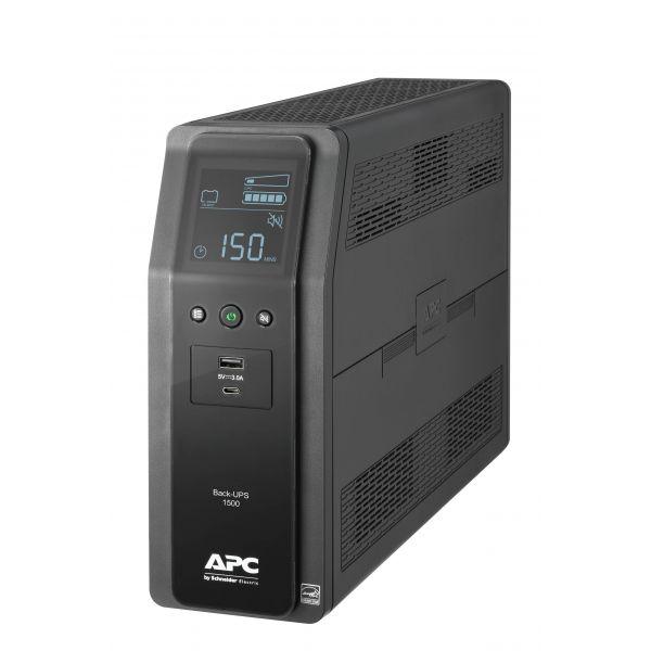 NO BREAK APC BACK-UP BR LCD USB 1500VA/900W 120V 10 CONTAC BR1500M2-LM