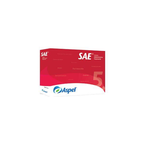 SOFTWARE ADMIN ASPEL SAE 7.0 10 USUARIOS ADICIONALES (SAEL10K)