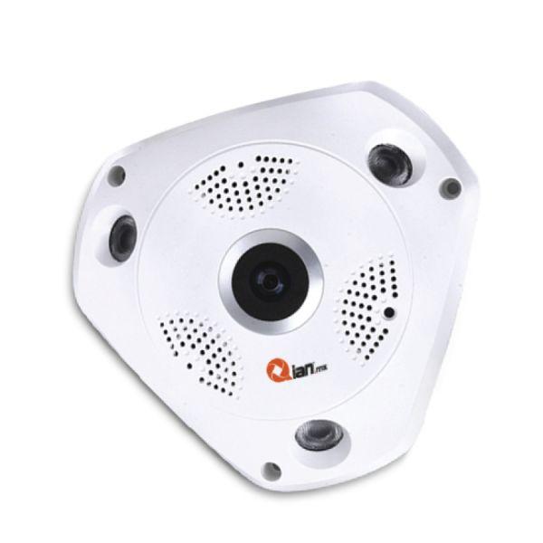 CAMARA IP QIAN YAN360 1.3MP 960p/360°/NOCTURNA/LAN/VOZ 2 VIA QC3601701