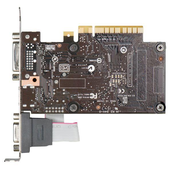 TARJETA DE VIDEO EVGA 01G-P3-2710-KR GT 710 1GB PCIe2.0 LP CAJA