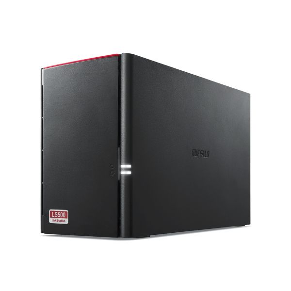 BUFFALO LINKSTATION 520DN NAS DE 2 BAHIAS 2TB 2 X 1TB USB 3.0 NEGRO