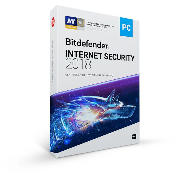 INTERNET SECURITY BITDEFENDER 2018 1AÑO 5 USUARIOS (TMBD-407)
