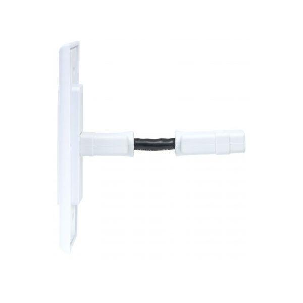 PLACA PARA PARED MANHATTAN HDMI 1 SALIDA BLANCO 771719