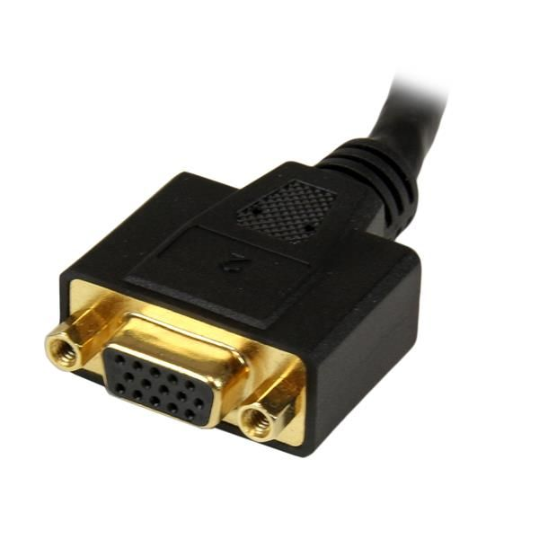 STARTECH CABLE DIVISOR 20cm DVI-I - DVI-I MACHO-HEMBRA DVI92030202L