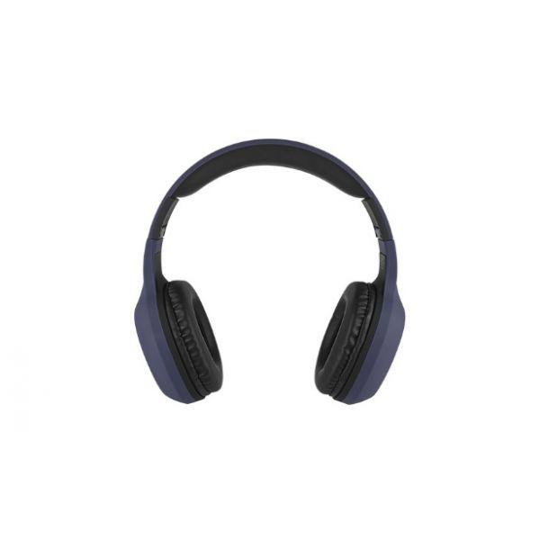 AUDIFONOS BLUETOOTH PERFECT CHOICE ON-EAR AZUL PC-116769