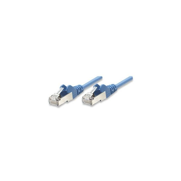 CABLE PATCH INTELLINET CAT-6, 7.6 MTS (25.0F) UTP AZUL (342629)