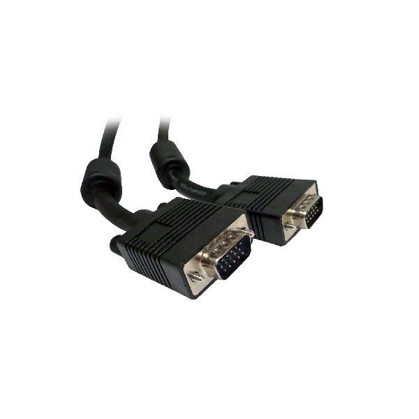 CABLE VGA BROBOTIX 531015 COLOR NEGRO 15 METROS SVGA/SVGA