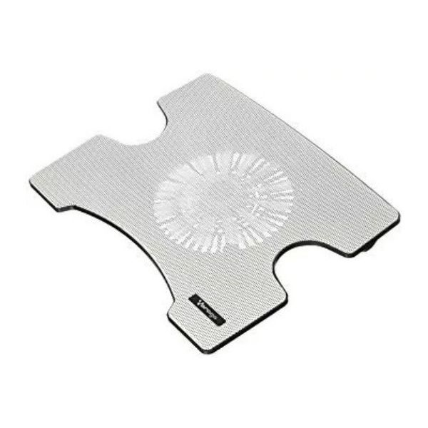 BASE ENFRIADORA VORAGO LAPTOP CP-102 HUB 2 USB BLANCO