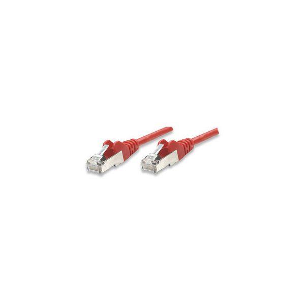 CABLE PATCH INTELLINET CAT6 UTP RJ-45 3M ROJO 342179