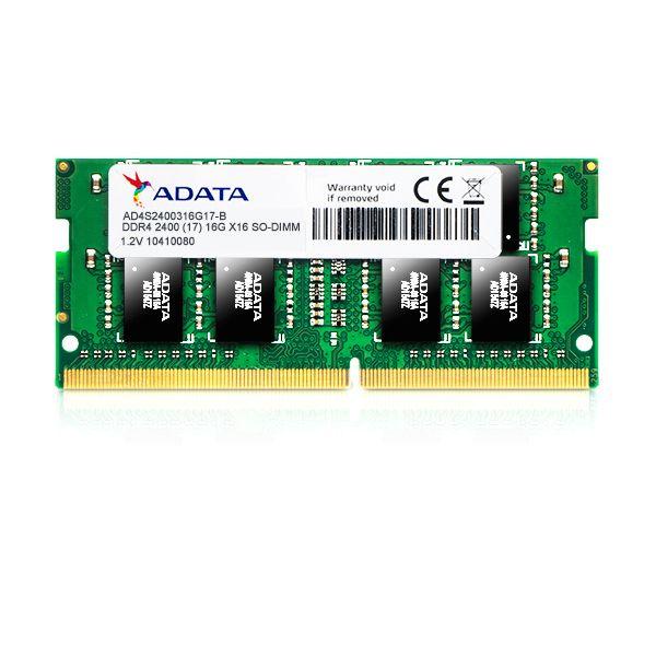 MEMORIA RAM SODIMM ADATA 4GB DDR4 2400MHz AD4S2400J4G17-S