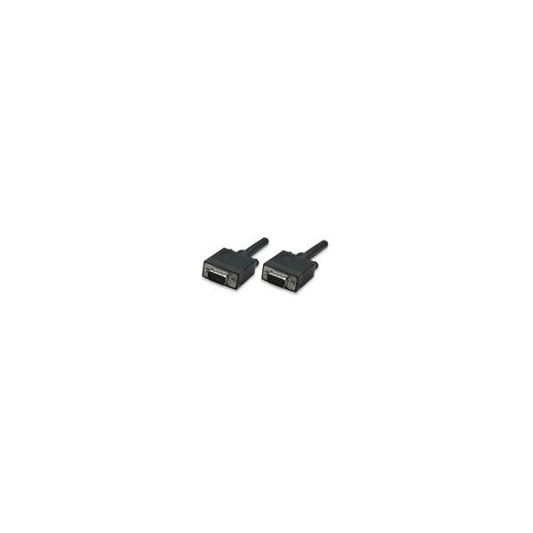 CABLE MONITOR SVGA MANHATTAN 8MM HD15M-M  1.8M 311731