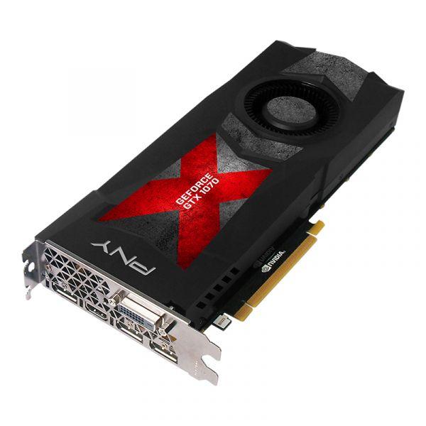 TARJETA DE VIDEO PNY VCGGTX10708PB-CG GTX1070 FE 8GB DDR5