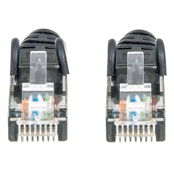 CABLE PATCH INTELLINET CAT-6, 2.0 MTS (7.0F) UTP NEGR (342070)