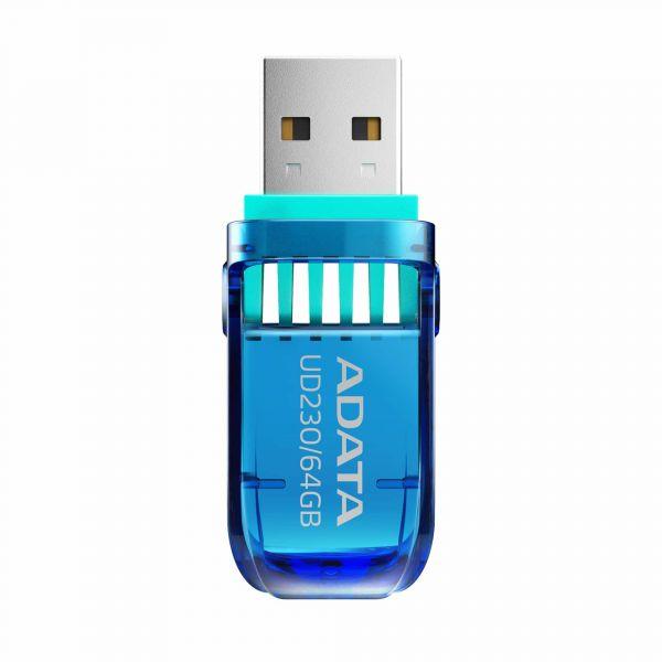 MEMORIA FLASH ADATA UD230 16GB USB 2.0 AZUL (AUD230-16G-RBL)