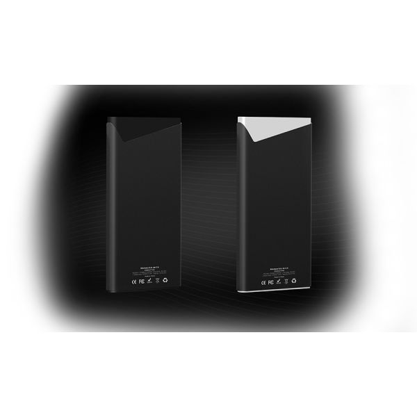 POWER BANK BLACKPCS EJECUTIVO USB/LIGHTNING 12000MAH PLATA EPBS3-12000