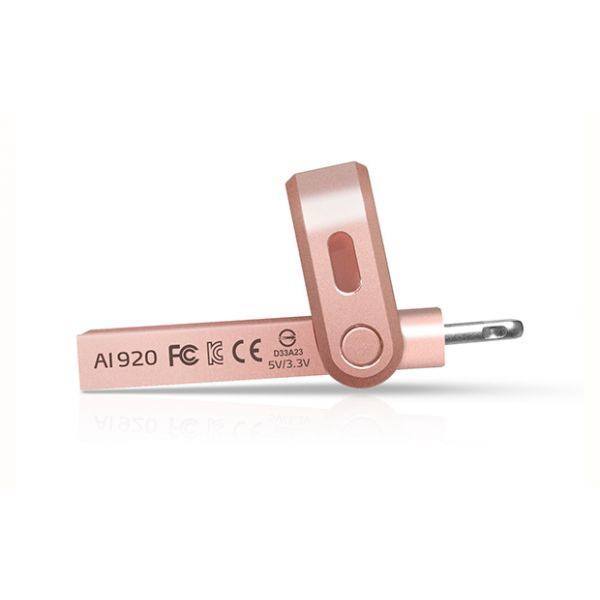 MEMORIA OTG ADATA 128GB USB 3.1 COLOR ORO ROSADO (AAI920-128G-CRG)