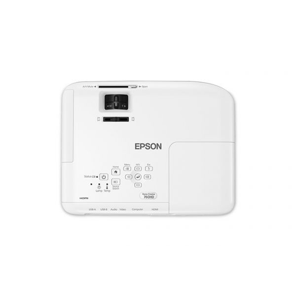 PROYECTOR EPSON HOME CINEMA 760HD WUXGA 3300 LUMENS V11H848020