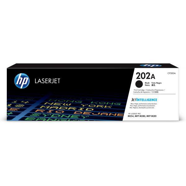 TONER HP 202A NEGRO 1400 PAGS P/M254/M281 CF500A