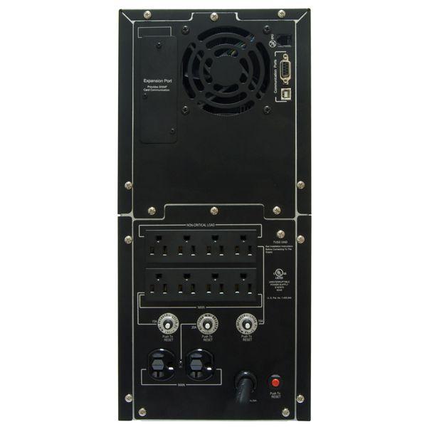 NOBREAK CYBERPOWER PR3000LCD 2700W 3000VA ENTRADA 75-154V